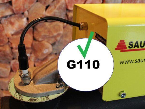 Saunatechnics fabriceert nu ook G110 branders